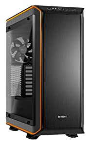 be quiet! Dark Base PRO 900 Orange Rev. 2, Full Tower ATX, 3 Pre-Installed Silent Wings 3 Fans, BGW14, Tempered Glass Window, RGB LED Illumination