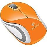 Logicool ロジクール ワイヤレス ミニマウス オレンジ M187OR