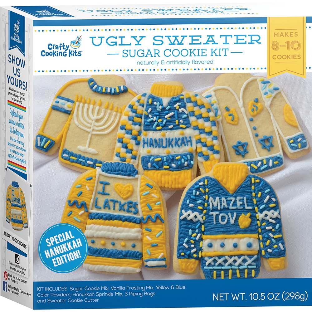 Hanukkah Edition Ugly Sweater Sugar Cookie Kit