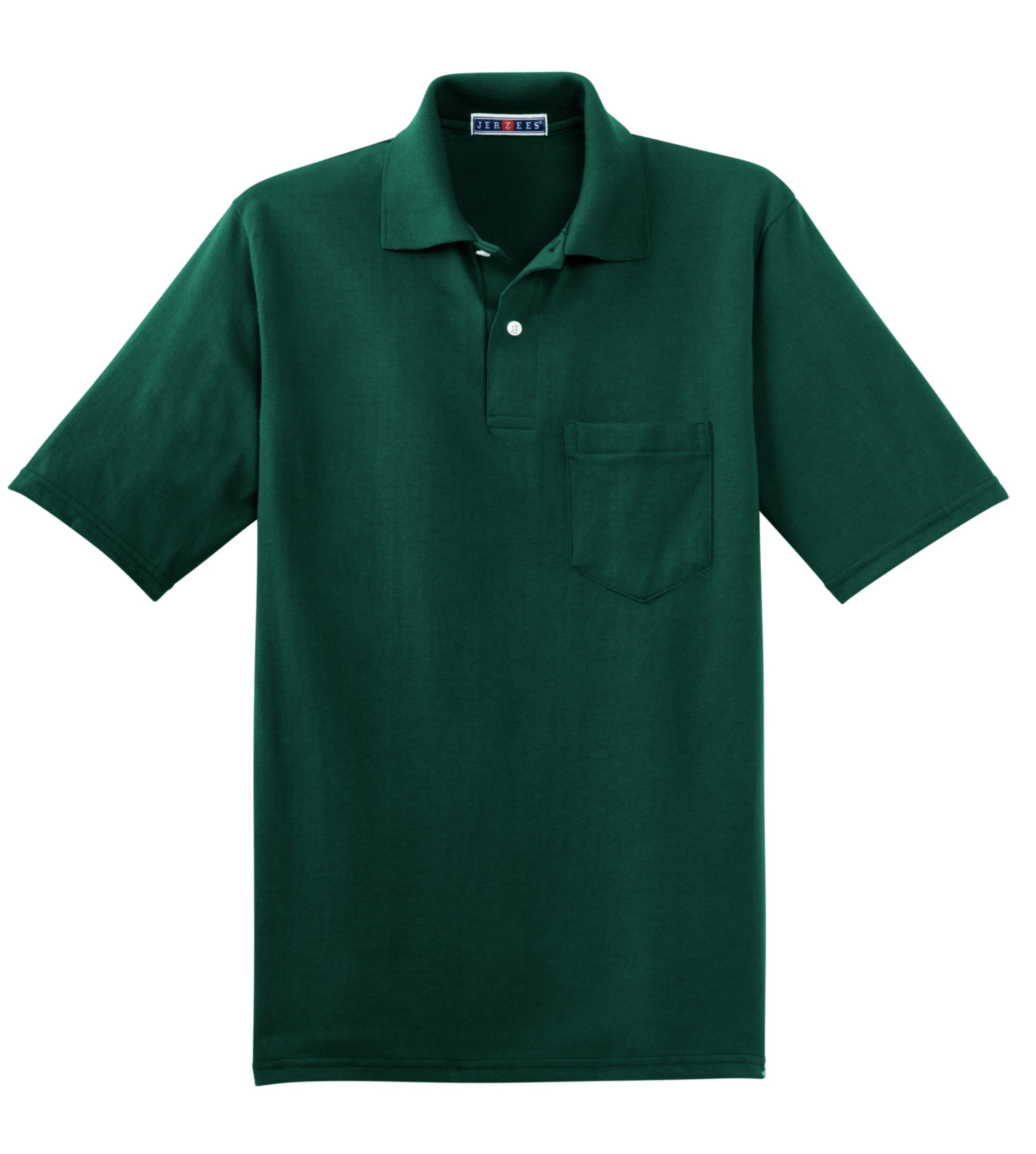 d0067a79908 Jerzees Mens 50 50 Jersey Pocket Polo with SpotShield (436P) product image