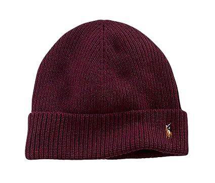 a571b1b39 Polo Ralph Lauren Beanie Winter Hat Cap Wool at Amazon Men's ...