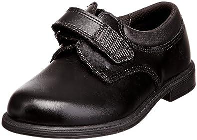 Toughees Shoes Class Velcro, Jungen Schule , Schwarz - schwarz - Gr. 16 EU