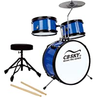 CB Sky 5-piece Junior Drum Set, Kids Percussion Instrument/Kids Musical Toys/Kids Musical Instrument