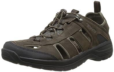 fc48e23d74c8 Teva Men s Kimtah Waterproof Leather Sandal