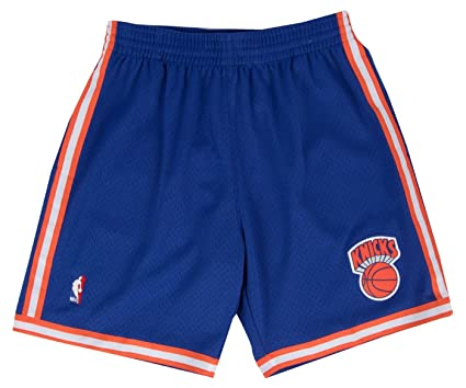 New York Knicks Mitchell   Ness NBA  quot Swingman quot  Men s Mesh Shorts  ... 9cb763b70548