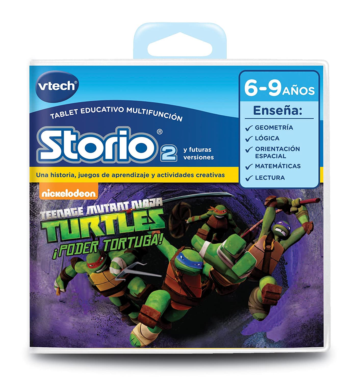 VTech- Cartucho para Storio, Tortugas Ninja (3480-231322)