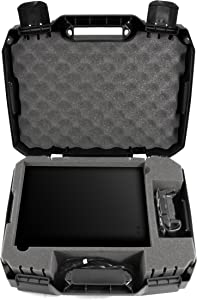 Casematix Console Case Compatible with Xbox 1 X 1tb Enhanced 4k Hdr Gaming System , Controller , Hdmi Cable and Video Games with Impact Resistant Travel Design