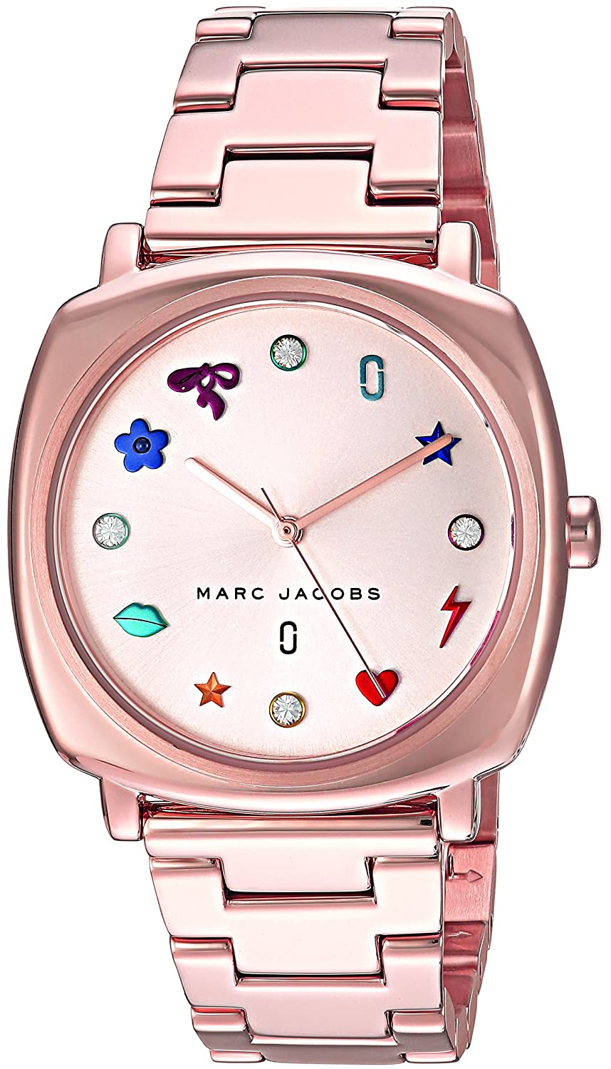 Modern Square Dial Watches Clothing Shoes Jewelry Fossil Idealist Silver Es4194 Womens Mandy Quartz Stainless Steel Casual Watch Color Rose Gold Toned