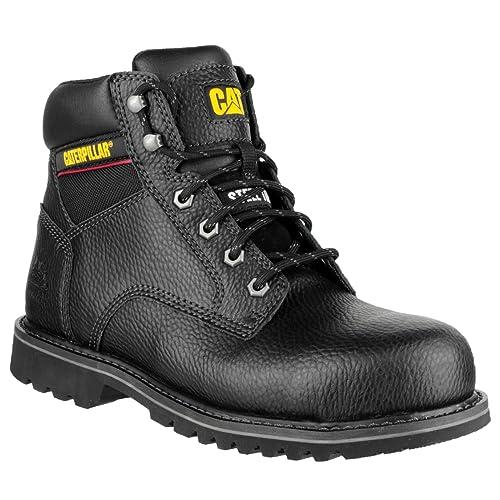 Caterpillar Electric para hombre calzado de seguridad/botas de seguridad, color negro, talla