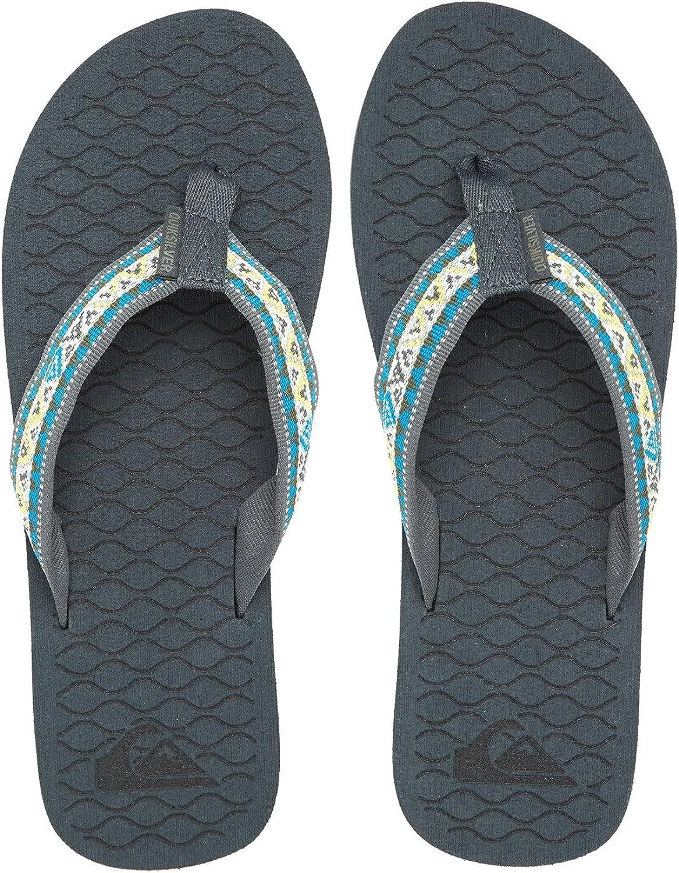Quiksilver Men's Hillcrest 3 Point Sandal Flip-Flop: Shoes