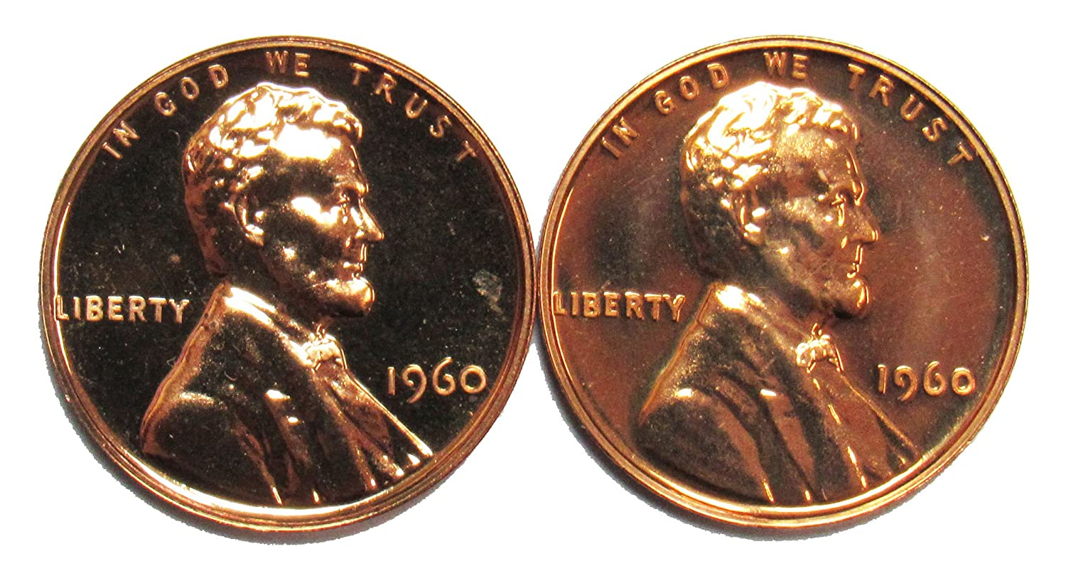 1977 P /& D Lincoln Memorial Cent **FREE SHIPPING** 2 Coins Penny Set