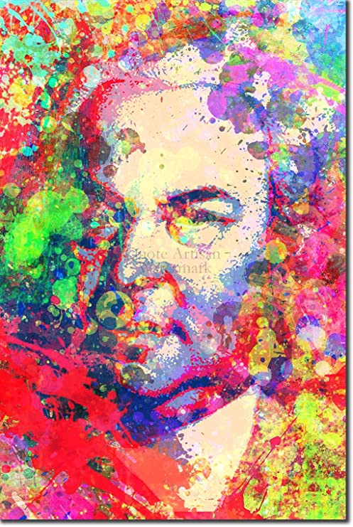 Portrait of Composer Johann Bach Music Repro Made in U.S.A Giclee Prints