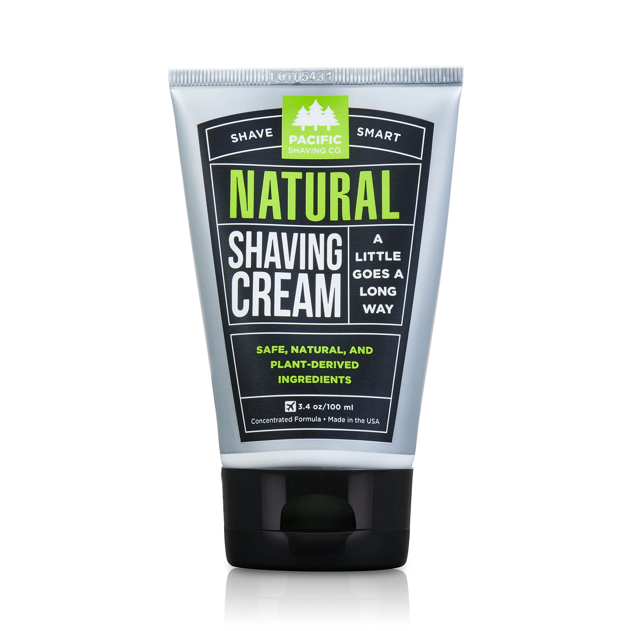 Pacific Shaving Company Natural Shaving Cream, Best Shave Cream For Men And  Women   Safe
