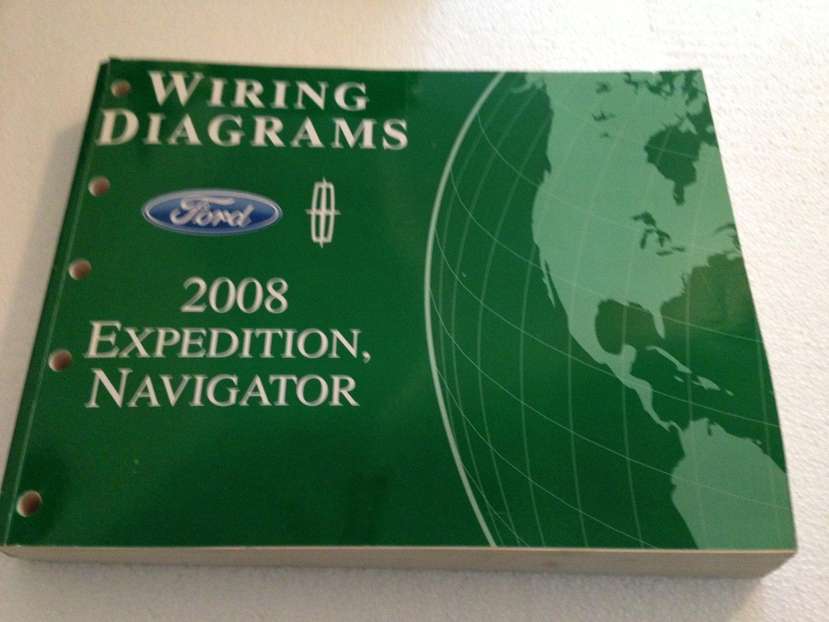 2008 ford expedition lincoln navigator wiring diagram manual original: ford:  amazon.com: books  amazon.com