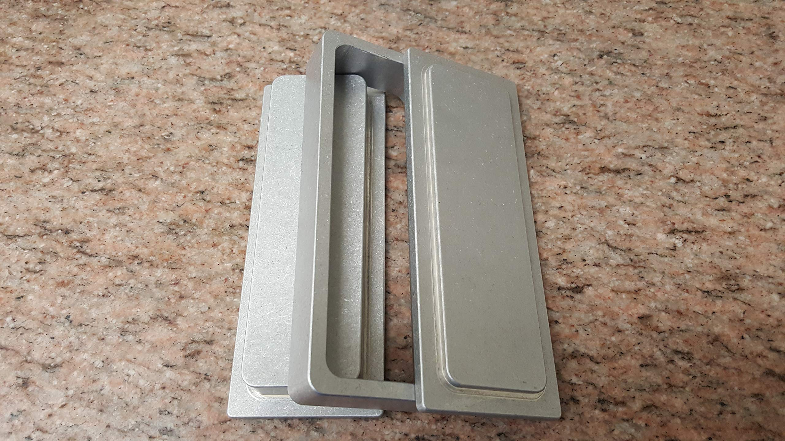 Flower PRE Press Mold 2'' X 6'' 2 X 6 Extraction Billet Aluminum USA Made by BTM MANUFACTURING (Image #4)