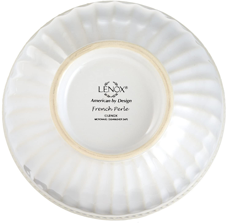 White Lenox French Perle Everything Bowl