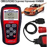 KW808 OBD2 Scanner Diagnostic Scan Tool Vehicles Car Fault Code Reader EOBD OBD2 Bositools Same As AUTEL MS509, [Importado de UK]
