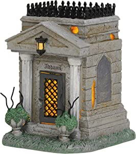 Department 56 The Addams Family Village Accessories Crypt Lit Figurine, 4.95 Inch, Multicolor
