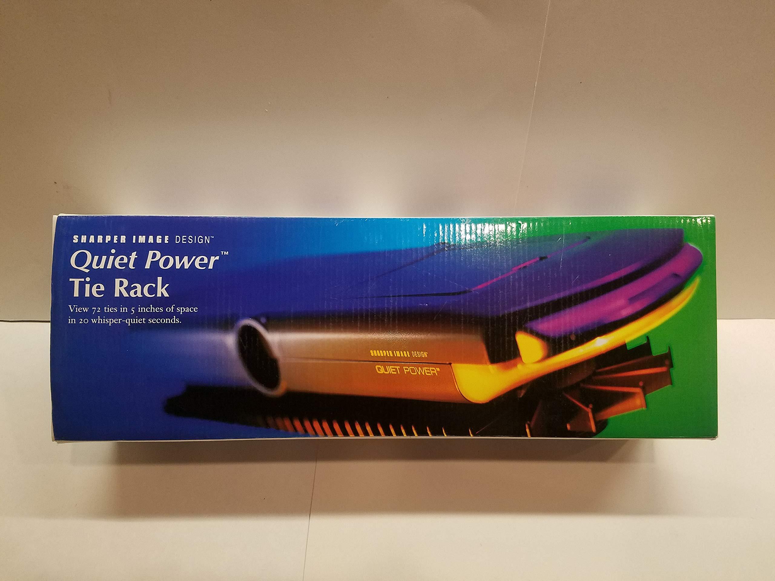 Sharper Image Design Quiet Power Tie Rack -View 72 by Sharper Image