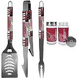 Siskiyou Sports NFL Unisex 3 pc Tailgater BBQ Set and Salt and Pepper Shaker Set