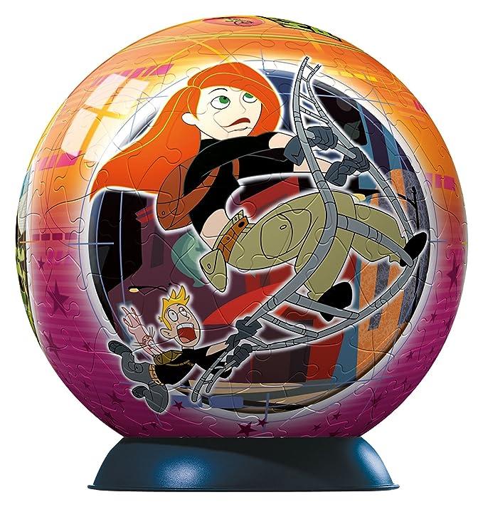 Ravensburger 11056 Puzzleball - Puzzle esférico de Kim Possible ...