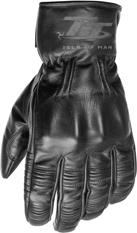 IOM TT Hillberry CE Mens Motorcycle Glove Brown 10 RST 2019
