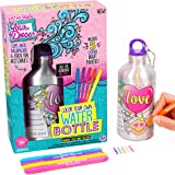 Just My Style Your Decor Color Your Own Water Bottle By Horizon Group Usa, DIY Bottle Coloring Craft Kit, BPA Free Aluminum 1