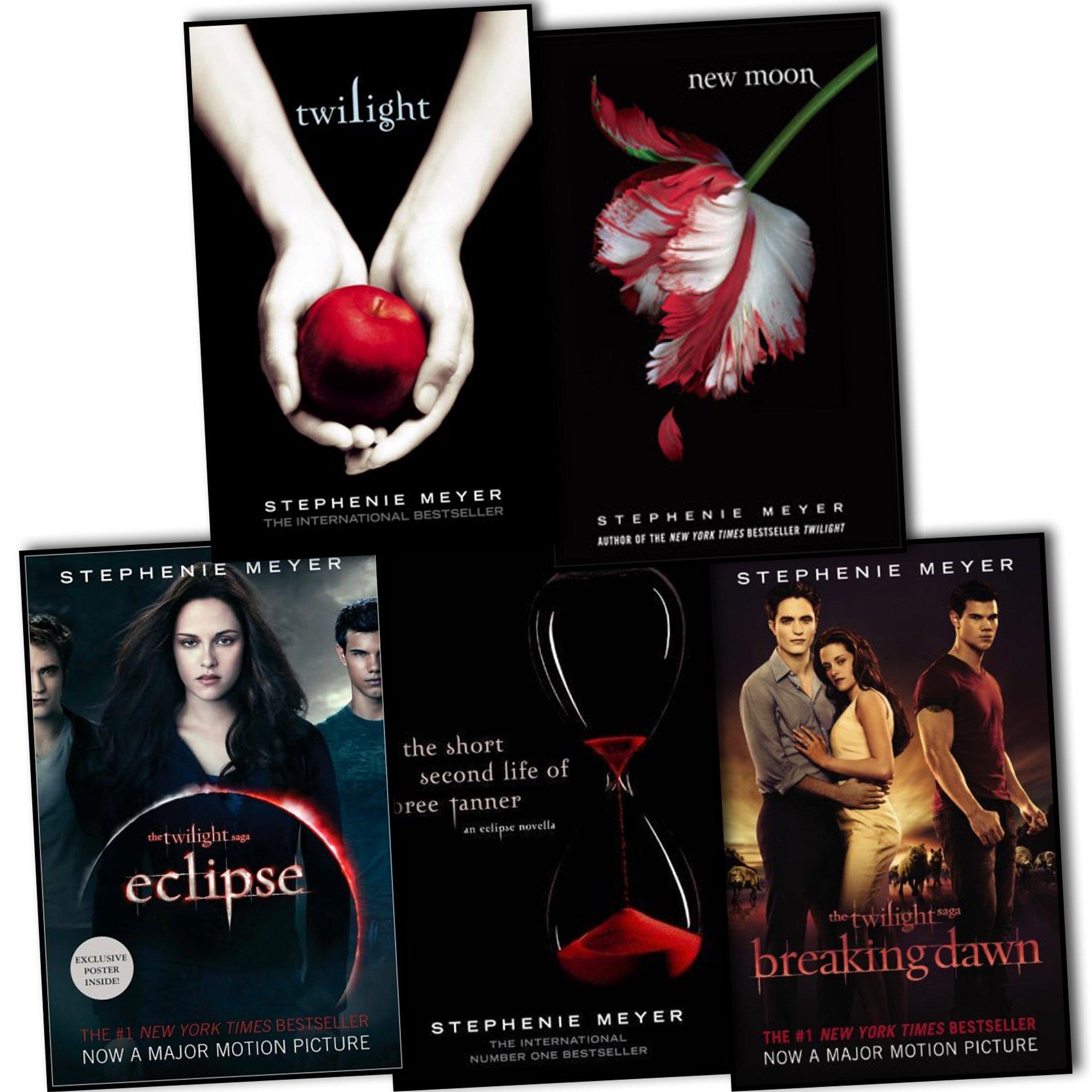 Download Stephenie Meyer, Twilight Saga Collection 5 Books: Twilight, New Moon, Eclips pdf epub