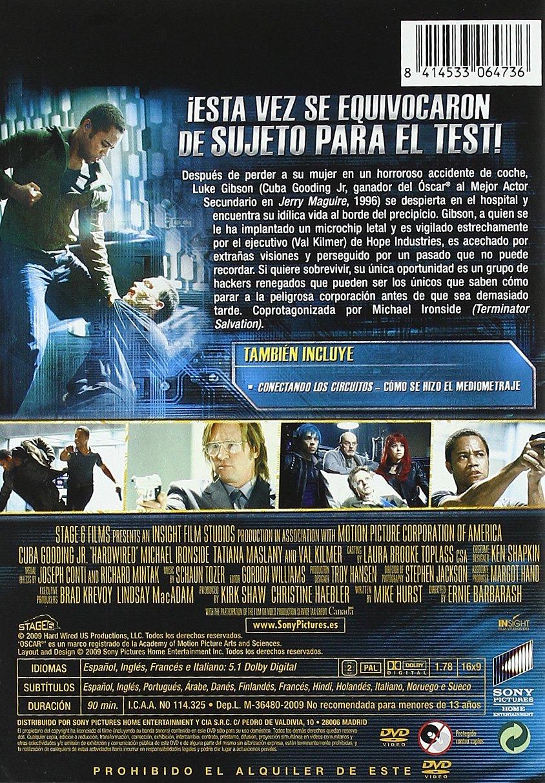 Enchufado a la red [DVD]: Amazon.es: Cuba Gooding Jr, Val ...