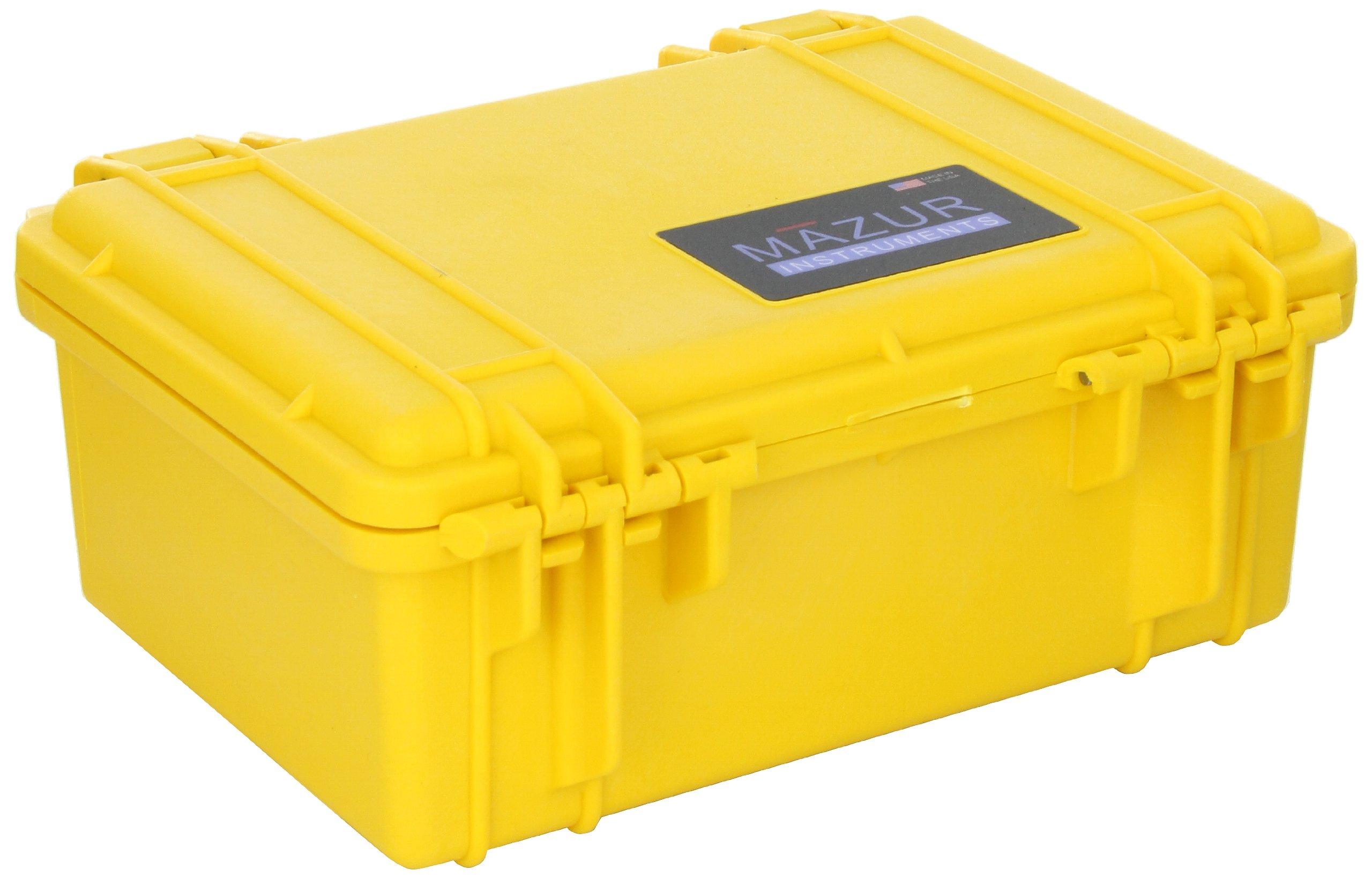 Mazur Instruments PRM-HC-YL Pelican PRM Hard Field Case, 7-1/4'' Length x 4-3/4'' Width, Yellow by Mazur Instruments (Image #2)