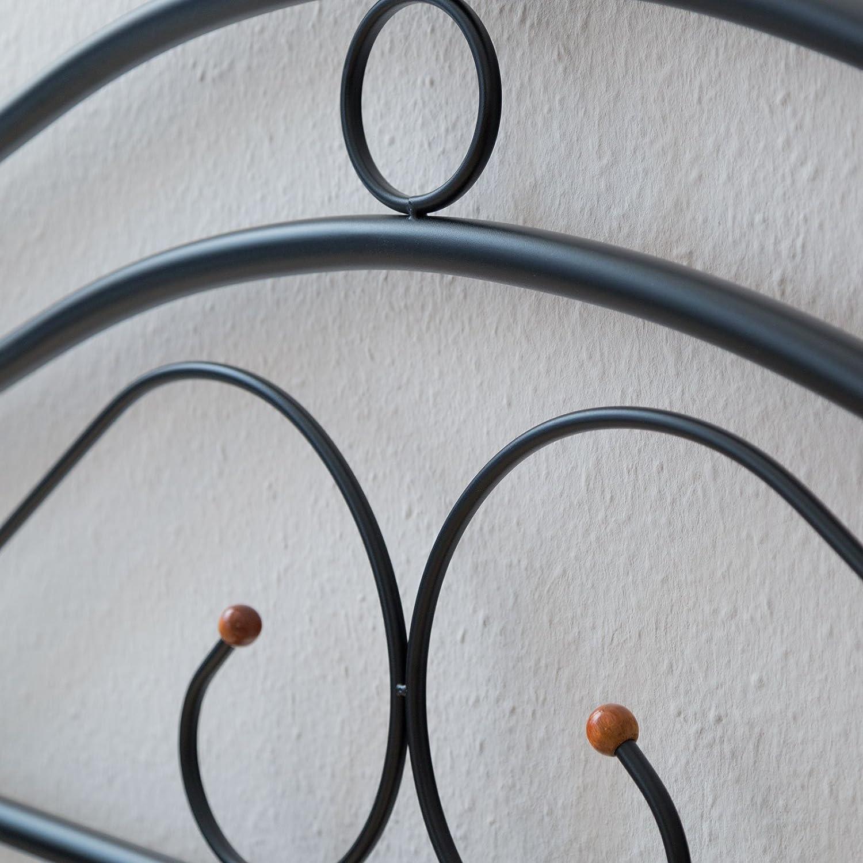 Homestyle4u 1257, Metallbett 140 x 200 Mit Lattenrost, Bettgestell ...