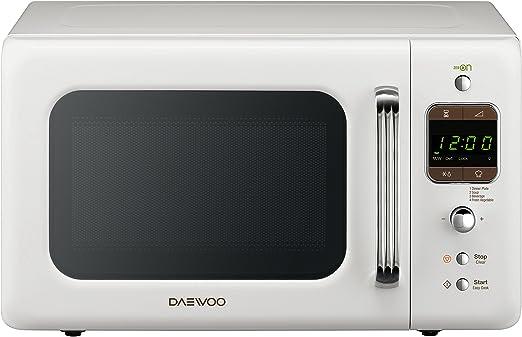 Daewoo KOG-6LBW - Microondas 20 litros digital con grill, 800 W ...