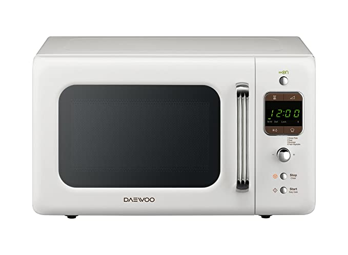 150 opinioni per Daewoo KOR-6LBW Forno a Microonde Digitale, Bianco, 20 lt