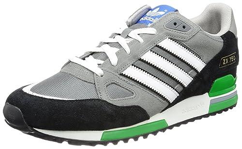 nouveau produit 4c1eb 4976e ebay adidas zx 750 grey green d6836 18616