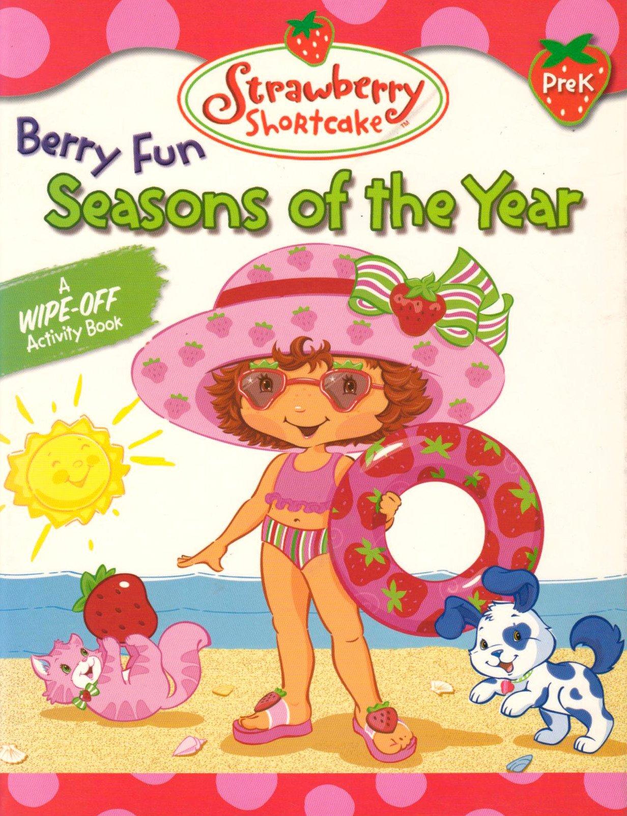 Download Seasons of the Year: Wipe-off Workbook (Strawberry Shortcake) pdf epub