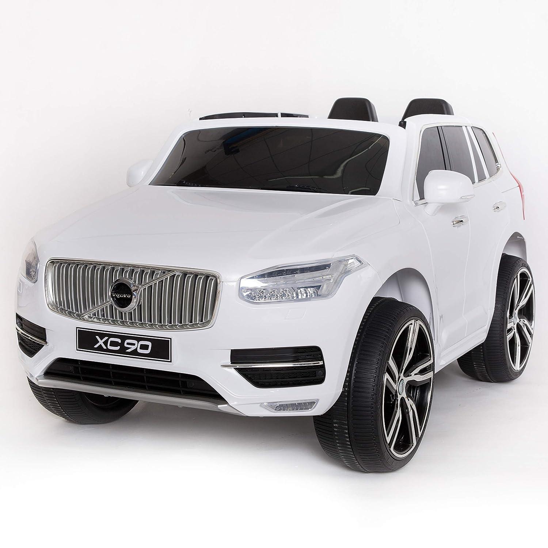 Amazon Com Kid Motorz Volvo Xc90 One Seater In White 12v