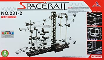 Spacerail Ball Rail Modern Space Rail Marble Run Spacewarp Level 6 60 meters