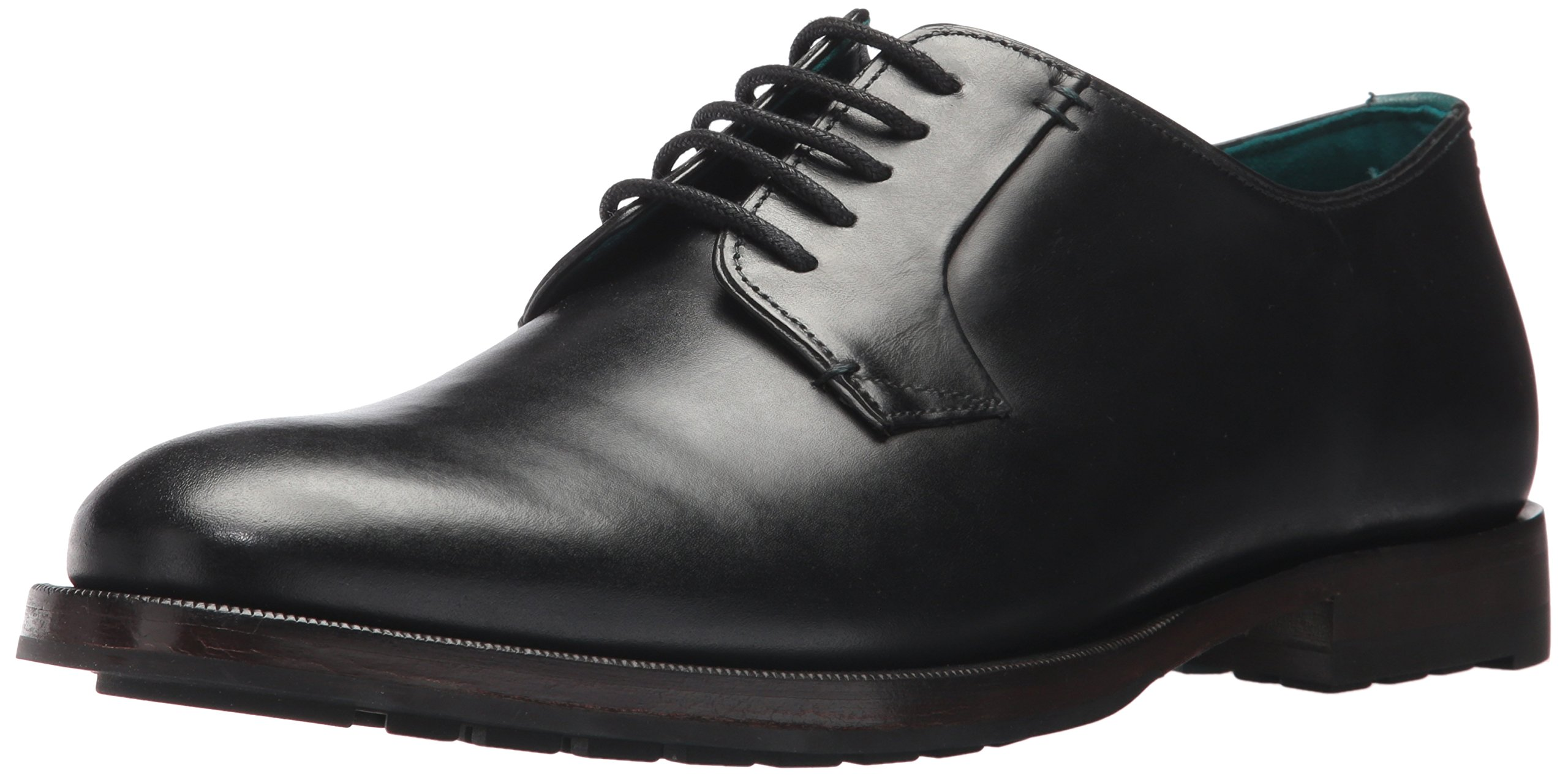 Ted Baker Men's Silice Oxford, Black, 10 D(M) US