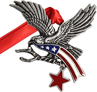 product image for Gloria Duchin Pewter Eagle Christmas Ornament, Multi