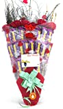 Holy Krishna's Bouquet of Nestle Munch Pack Of 8 With Soft Toy & Message Card + Laxmi ATM Card (All Items As Shown in image)