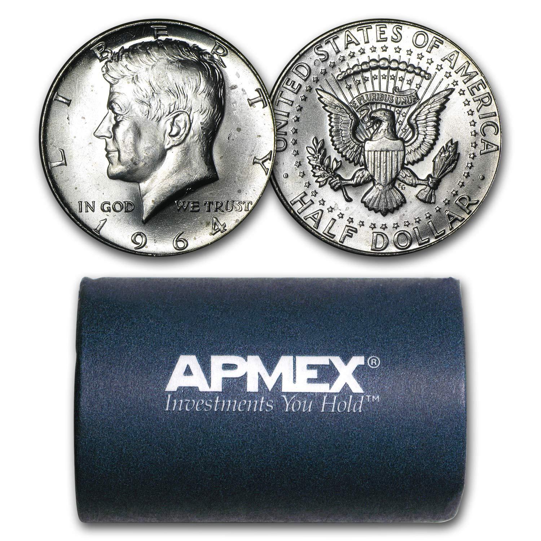1964 Kennedy half dollar BU UNCIRCULATED FROM ROLL 1 COIN
