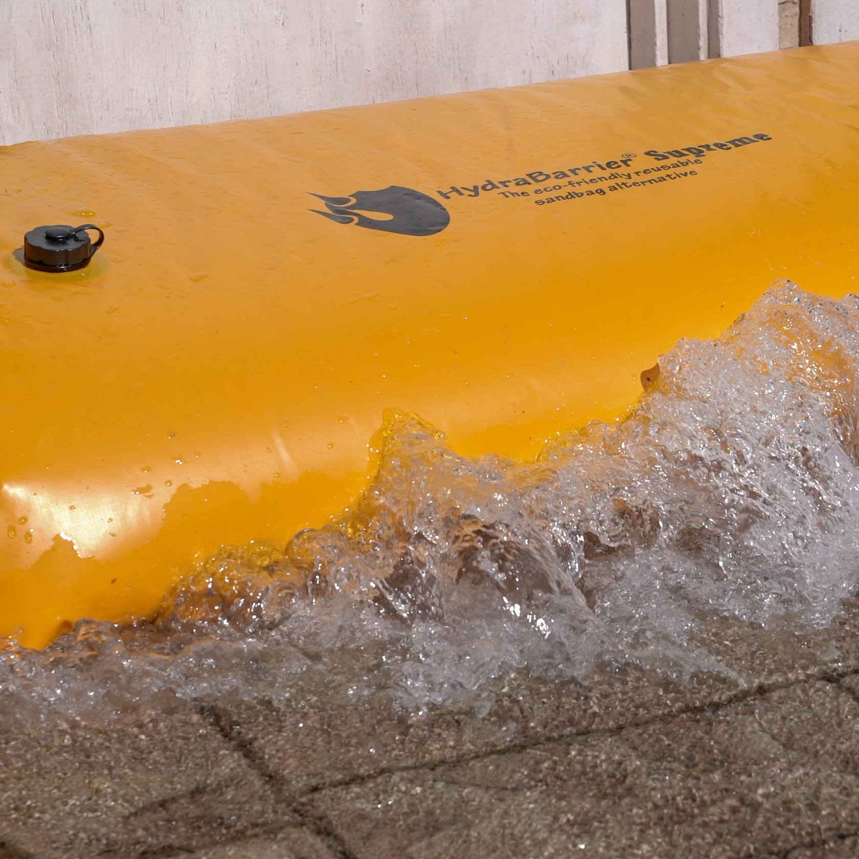 Best Sandbag Alternative - Hydrabarrier Supreme 6 Foot Length 12 Inch Height. - Water Diversion Tubes That are The Lightweight, Re-usable, and Eco-Friendly