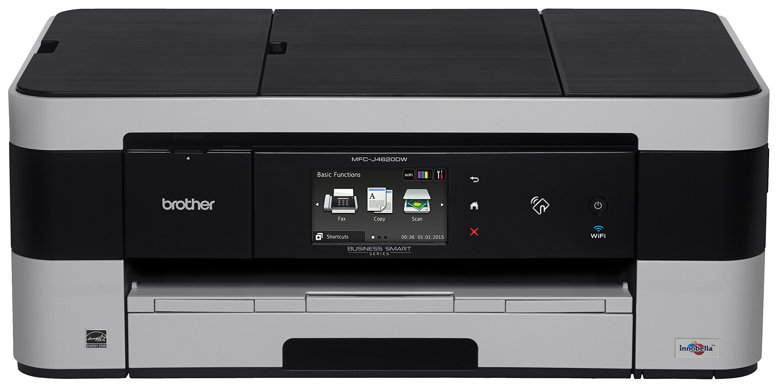 Brother Business Smart MFC-J4620DW Inkjet All-in-One Printer with up to 11x17-Inch Printing and NFC Capability by Brother
