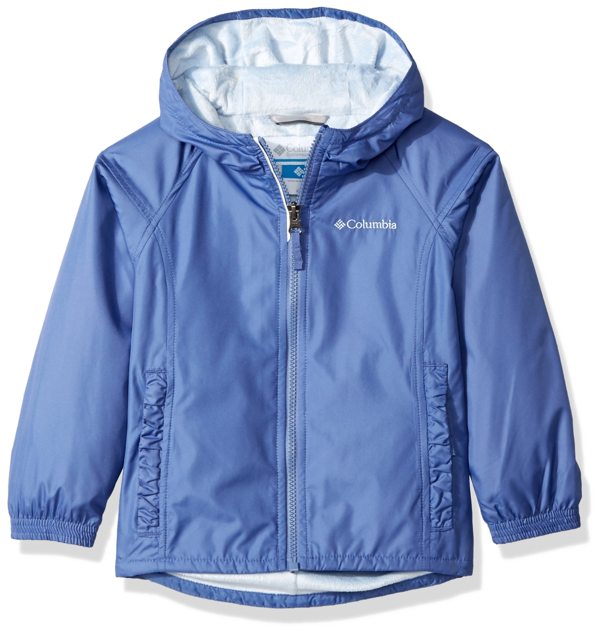 Columbia Girls' Toddler Boys' Ethan Pond Jacket, Eve, 4T