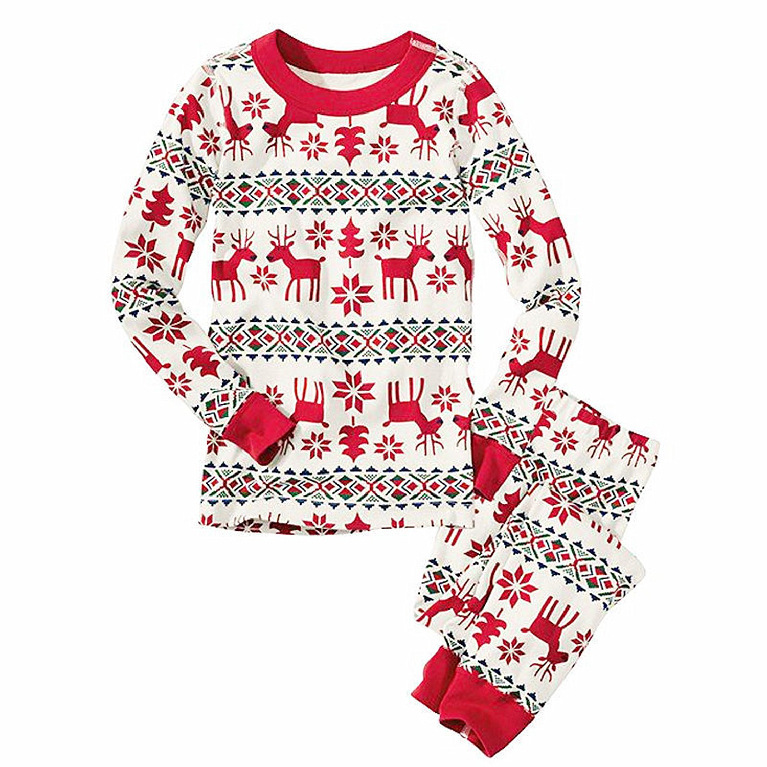MAIPOETYRY Christmas Family Matching Sleepwear Homewear Pajamas Set