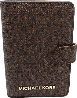 Amazon.com  Michael Kors Michael Kors Leather Travel Logo Duffle ... df5d76196aa57