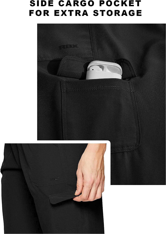 RBX Active Women's Fashion Lightweight Stretch Woven Body Skimming Drawstring Capri Pant: Clothing
