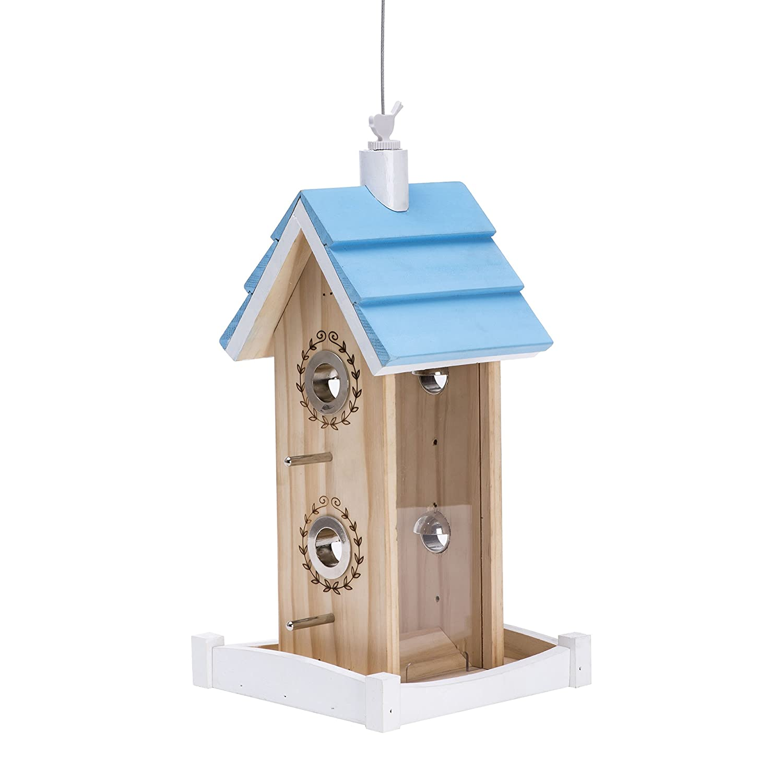 Opus [Perky-Pet] 50182 Comedero para pájaros Caseta: Amazon.es: Productos para mascotas