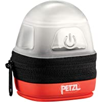 PETZL Seniors Womens Unisex-Adult Adult Mens Protective Lantern and Carrying Case Headlamps E093DA00, Red, one