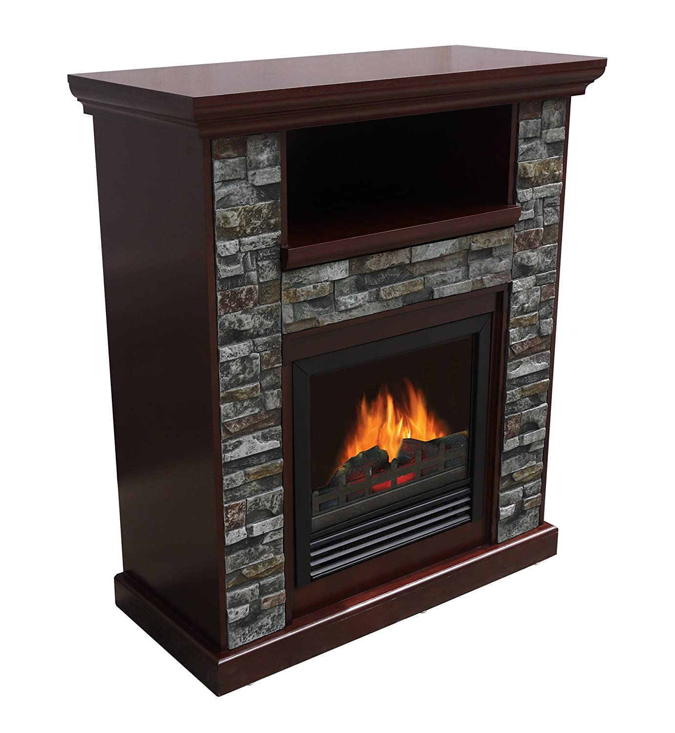 amazon com asheville electric fireplace home u0026 kitchen